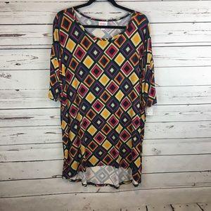 NWT! Lularoe Patterned Irma Shirt